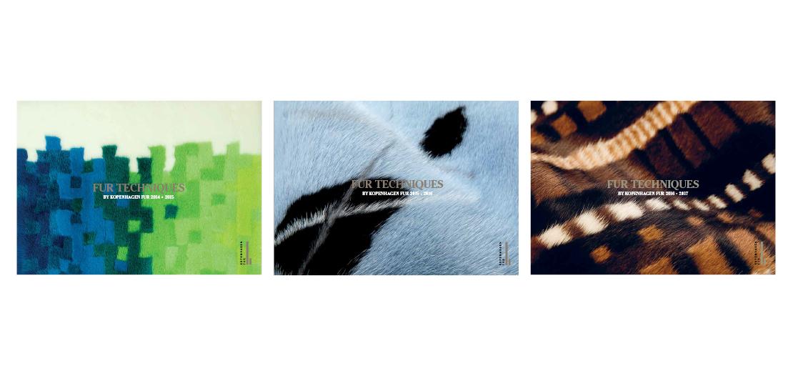 Design og layout af step by step undervisningsbøger om pelsteknikker