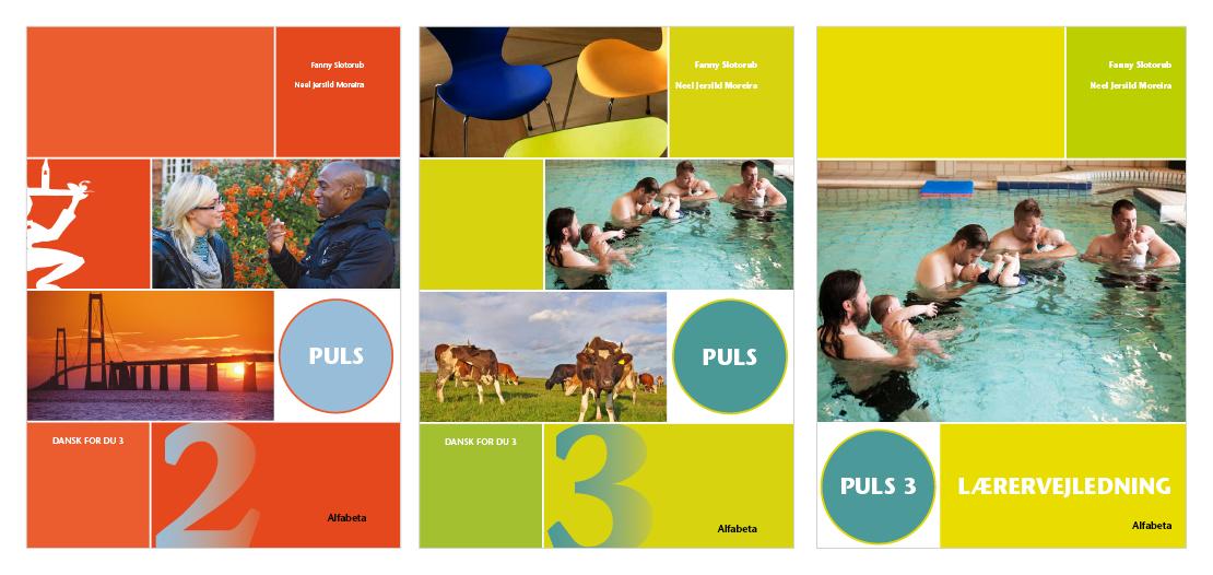 Design og layout af serie af dansk for indvandrere opgavebøger
