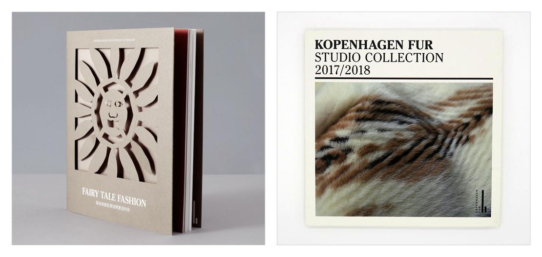 Katalogdesign for Kopenhagen Fur