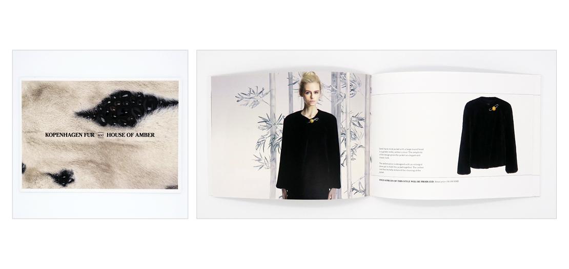 Design af katalog for Kopenhagen Fur