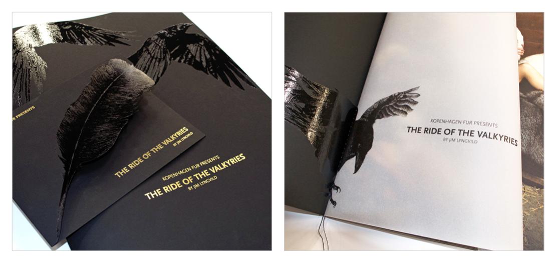 Design og layout af katalog og invitation til verdens største modeshow for Kopenhagen Fur